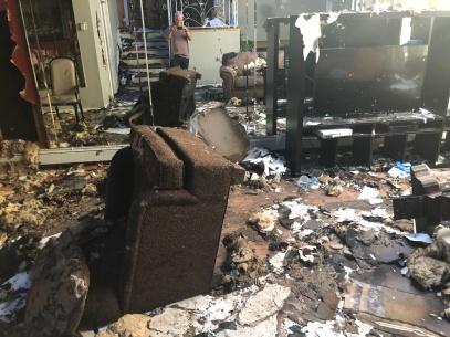 Fire and Smoke Damage Claim